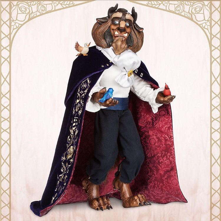 Disney Limited Edition Doll - Beauty & Beast - Beast