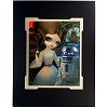 Disney Artist Print - Jasmine Becket-Griffith - Princess Leia and R2-D2