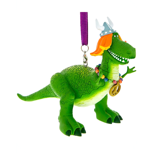 Disney Figurine Ornament - Toy Story - Mardi Gras Rex