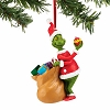 Universal Ornament - Dr. Seuss - Santa Grinch with Bag
