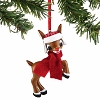 SeaWorld Figure Ornament - Rudolph with Hat and Scarf