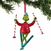 Universal Figure Ornament Dr. Seuss - Grinch Skiing