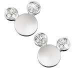 Disney Arribas Earrings - Mickey Mouse Icon Crystal Ears