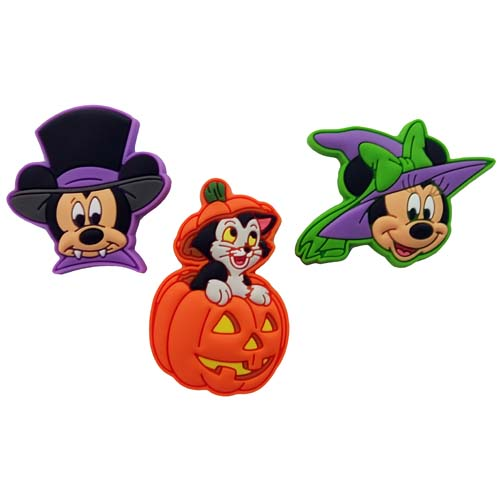 Disney MagicBand MagicBandits - Halloween Mickey, Minnie, and Figaro