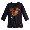 Disney Ladies Shirt - Halloween 2016 Spiderweb Mickey Icon