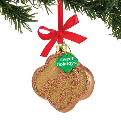 Girl Scouts Christmas Ornament Girl Scout Cookies Trefoil