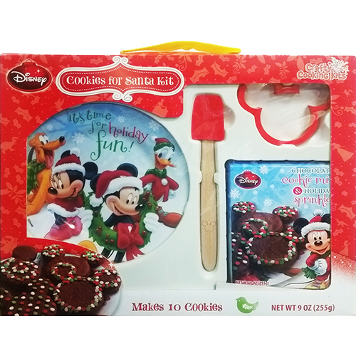 Disney Christmas Bake Shop Kids Make Cookies For Santa Kit