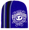 Disney Knit Hat - Nightmare Before Christmas - Purple Jack Skellington