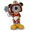 Disney Arribas Jeweled Figurine - Fireman Mickey Mouse