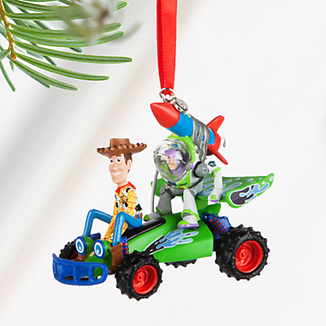 Disney Sketchbook Ornament - 2016 Toy Story Woody and Buzz
