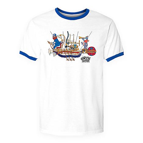 Disney Adult Shirt - Epcot Figment and Dreamfinder Tee