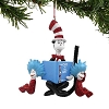 Universal Figure Ornament - Dr. Seuss - Cat in the Hat with a Book