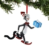 Universal Figure Ornament - Dr. Seuss - Cat in the Hat with Gift