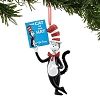 Universal Figure Ornament - Dr. Seuss - Cat in the Hat Holding Book