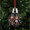 Elf on a Shelf LED Light-Up Ornament - Elf Dancing In Snow Holidazzler