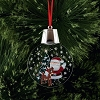 Rudolph LED Light-Up Ornament - Rudolph with Santa Holidazzler
