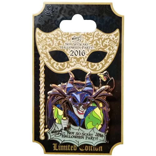 Disney Pin - 2016 Mickey's Not So Scary Halloween Party Maleficent