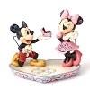 Disney Traditions by Jim Shore - Mickey Proposing to Minnie tra