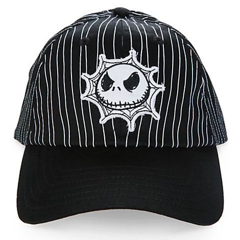 Disney Baseball Cap - Jack Skellington Striped Baseball Cap for Kids