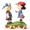 Peanuts by Jim Shore - Baseball Schroeder and Lucy