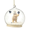 Rudolph Traditions by Jim Shore Ornament - Bumble Dome