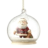 Rudolph Traditions by Jim Shore Ornament - Santa Dome