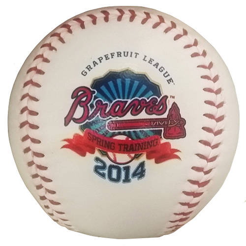 Disney Collectible Baseball - 2014 Braves Spring Training