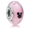 Disney PANDORA Charm - Mickey Mouse Icon Murano Glass Charm