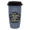 Disney Ceramic Travel Mug - Food and Wine 2016 Taste Your Way Logo