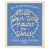 Disney Magnet - Epcot Food and Wine Festival 2016 Taste Your Way