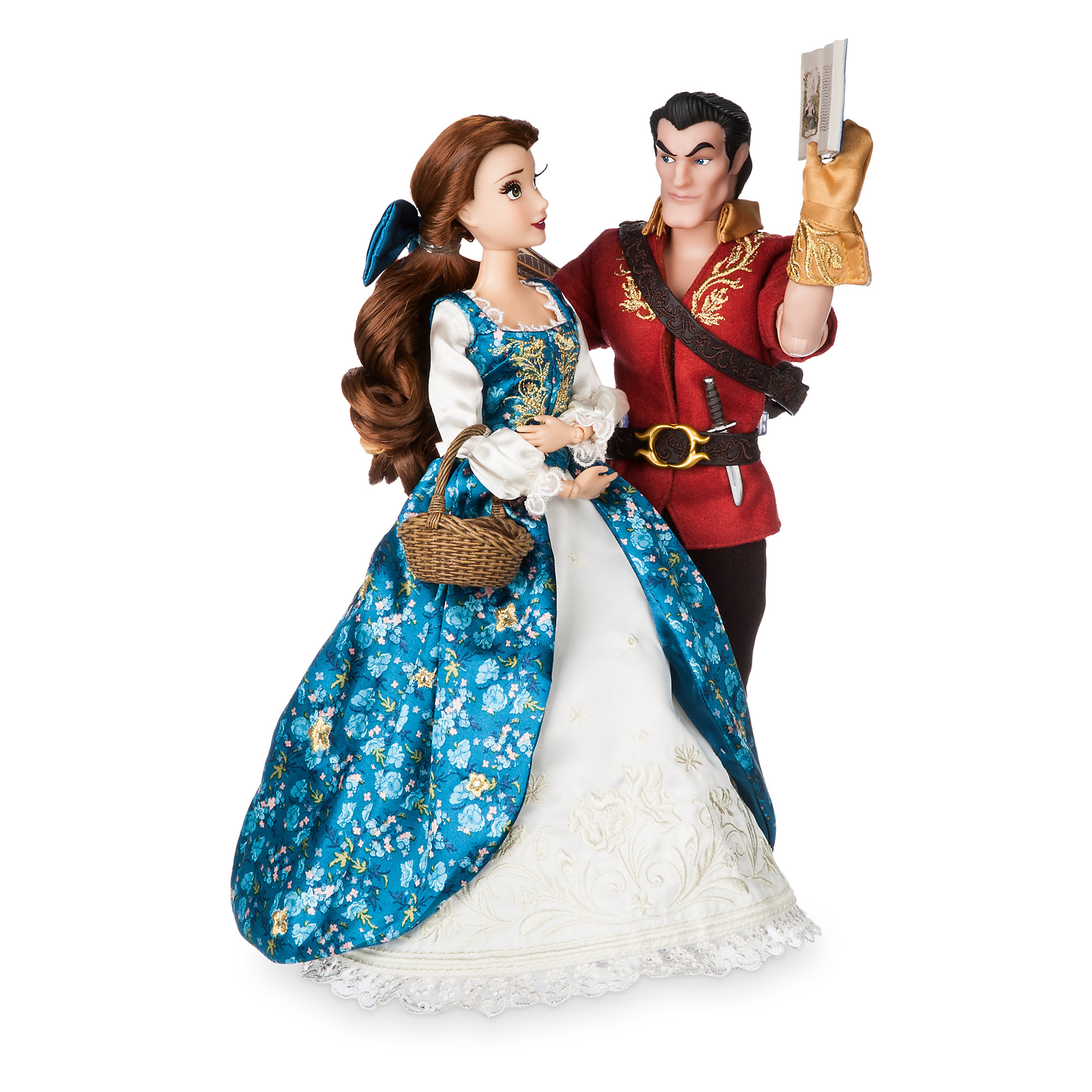 Disney Fairytale Designer Collection Doll Set - Belle and Gaston