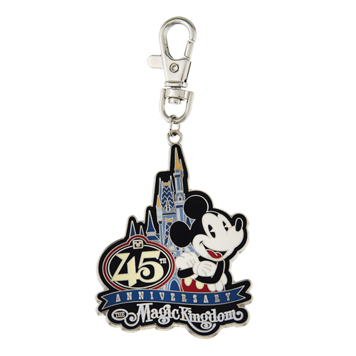Disney Lanyard Medal - Magic Kingdom 45th Anniversary