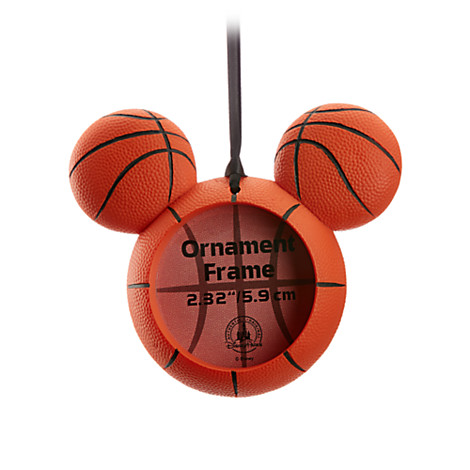 Disney Frame Ornament - Mickey Mouse Icon - Basketball