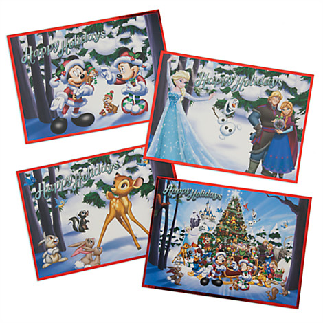 disney christmas cards disney parks storybook holiday