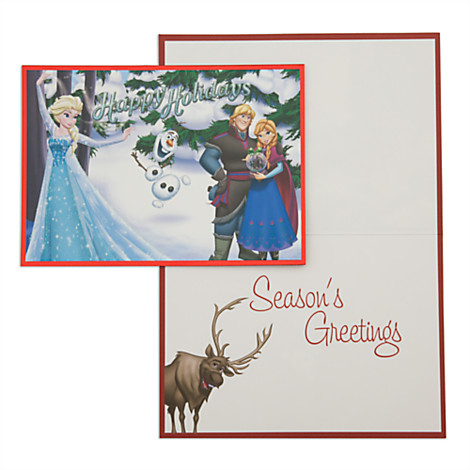 Disney christmas cards disney parks storybook holiday m4hsunfo