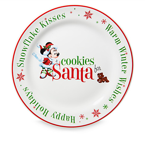 Add to Wish List  sc 1 st  Your WDW Store & Your WDW Store - Disney Holiday Glass and Plate Set - Cookies and ...