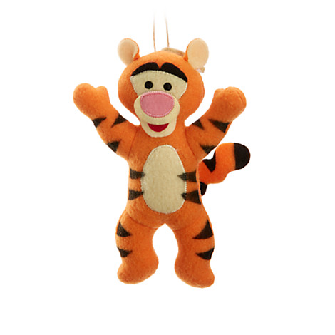 Tigger Christmas Ornaments.Disney Plush Christmas Ornament Storybook Holiday Tigger