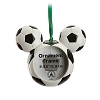 Disney Frame Ornament - Mickey Mouse Icon - Soccer Ball
