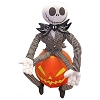 Disney Plush Porch Greeter -  Jack Skellington Sitting on Pumpkin
