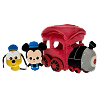 Disney Plush Play Set - Train with Mickey and Pluto
