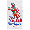 Disney Beach Towel - Mickey Mouse in Flags of Epcot Showcase