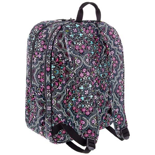 Disney Vera Bradley Bag - Mickey Medallion Campus Backpack c1b15fabc6