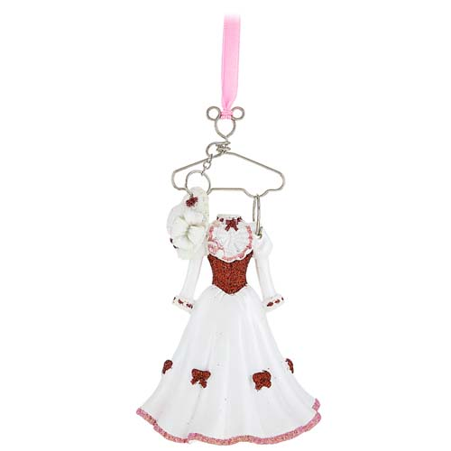 - Disney Christmas Ornament - Costume On Hanger - Mary Poppins
