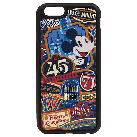 new styles 02963 c1ce1 Disney IPhone 6 Case - Magic Kingdom 45th Anniversary