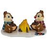 Disney Salt & Pepper Shaker Set - Retro Holiday Chip & Dale