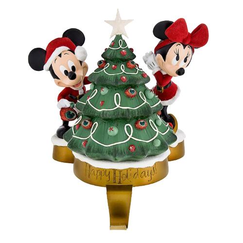 Disney Stocking Holder Mickey Amp Minnie Holiday Tree