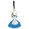 Disney Christmas Ornament -  Costume on Hanger - Alice in Wonderland