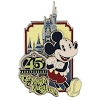Disney Magic Kingdom Pin - 45th Anniversary - Mickey Mouse
