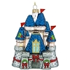 Disney Christmas Ornament - Blown Glass - Holiday Castle