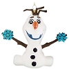 Disney Christmas Ornament - Blown Glass - Olaf with Snowflakes